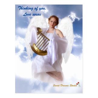 Customizable Guardian Angel Postcard
