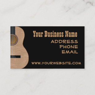 country music business cards zazzle