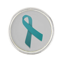 Customizable Gynecological Cancer Lapel Pin