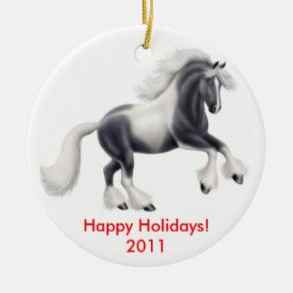 Customizable Gypsy Horse Ornament