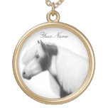 Customizable Gypsy Vanner Cob Horse Necklace