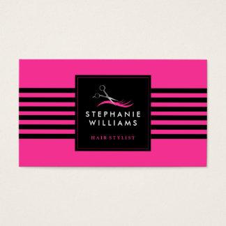 Customizable Hair Stylist Business Card Template