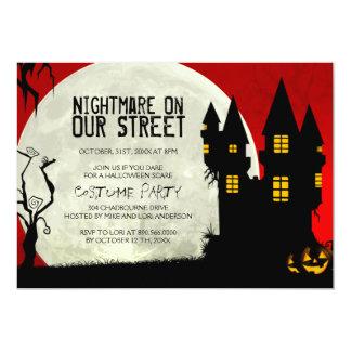 "Customizable Halloween Costume Party Invitation 5"" X 7"" Invitation Card"
