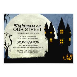 Customizable Halloween Costume Party Invitation