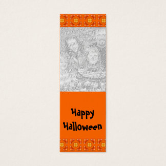 Customizable Halloween Photo Bookmark Mini Business Card