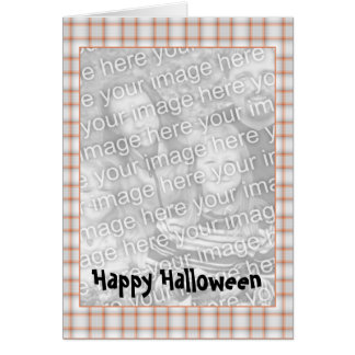 Customizable Halloween Photo Card