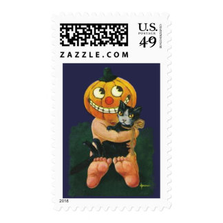 Customizable Halloween Postage Stamps