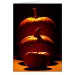 Customizable Halloween Season Pumpkins Card