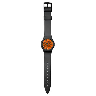 Customizable Halloween Spider Web Wrist Watch