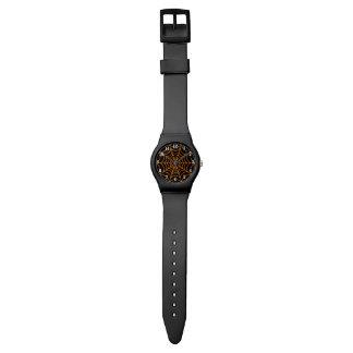Customizable Halloween Spider Web Wrist Watches