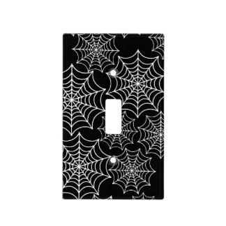Customizable Halloween Spider Webs Light Switch Cover