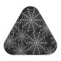 Customizable Halloween Spider Webs Bluetooth Speaker