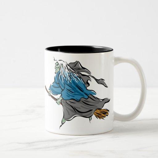 Customizable Halloween Witch Mugs