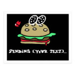 Customizable Hambuger Postcard
