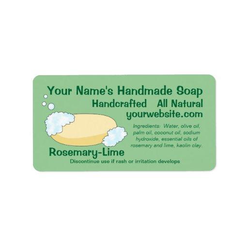 labels for handmade soap - 28 images - soap labels