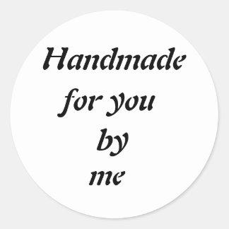Customizable Handmade Transparent Sticker