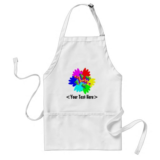 Customizable Hands And Puzzling Puzzle Piece Adult Apron