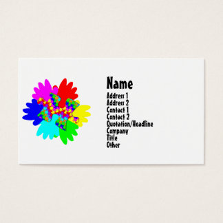 Customizable Hands And Puzzling Puzzle Piece Business Card