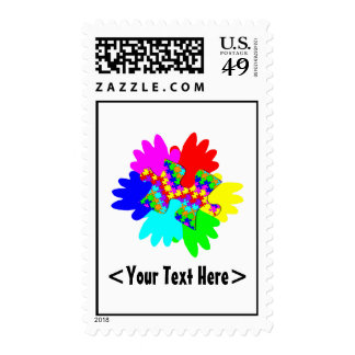 Customizable Hands And Puzzling Puzzle Piece Postage Stamps