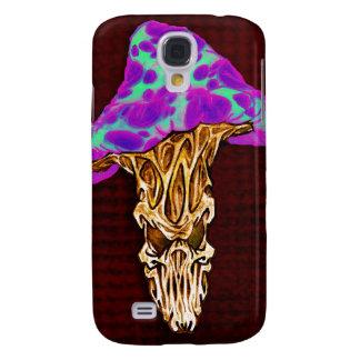 Customizable Happy Evil Mushroom Design Galaxy S4 Cases