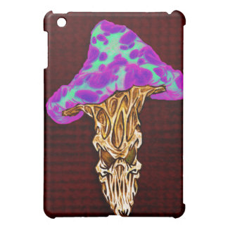 Customizable Happy Evil Mushroom Design iPad Mini Cover