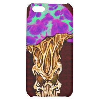 Customizable Happy Evil Mushroom Design iPhone 5C Cover
