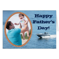 Customizable Happy Father's Day Add Your Own Image Card