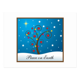Customizable Happy Holidays Postcard