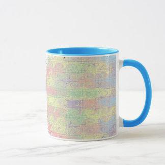 Customizable Hazy Color Splash coffee cup / mug