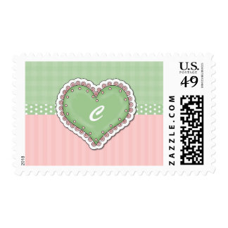 Customizable Heart Cards Stamps