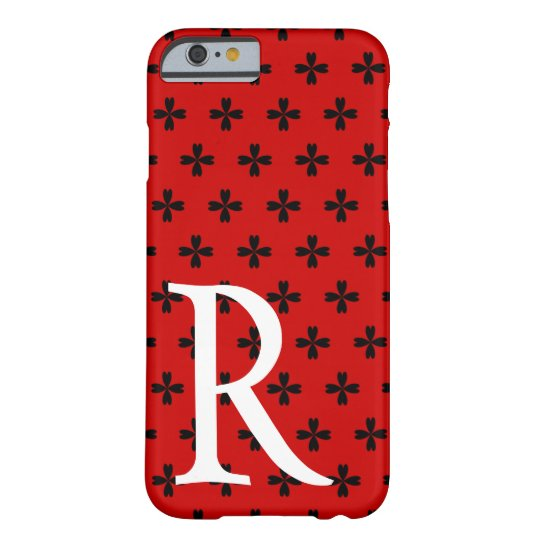 Customizable Heart Crosses Barely There iPhone 6 Case