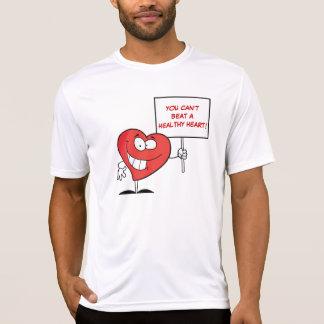 Customizable Heart Healthy Slogan Sign T-Shirt