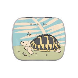 Customizable Hermann's Tortoise Candy Tin
