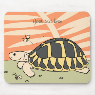 Customizable Hermann's Tortoise Mouse Pad