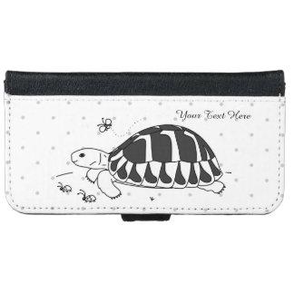Customizable Hermann's Tortoise Phone Wallet Case