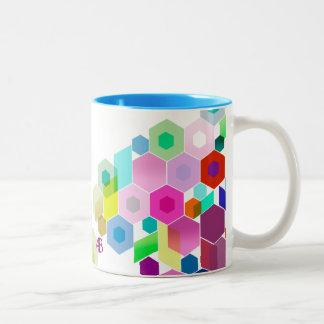 Customizable: Hexagonal Coffee Mugs