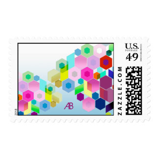 Customizable: Hexagonal Postage Stamp