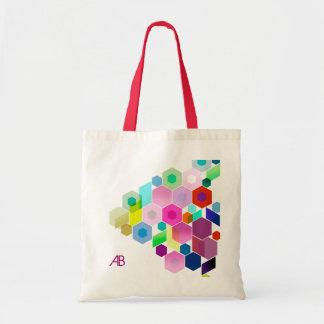 Customizable: Hexagonal Tote Bags