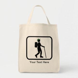 Customizable Hiker Logo Tote Bags