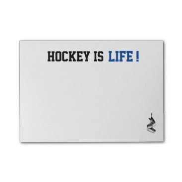 simply_rantastic Customizable Hockey is Life Post It's Post-it Notes