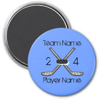 Customizable Hockey Magnets
