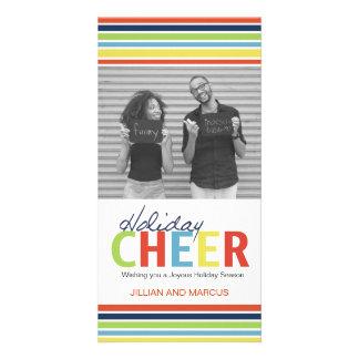 Customizable Holiday Cheer Photo Card
