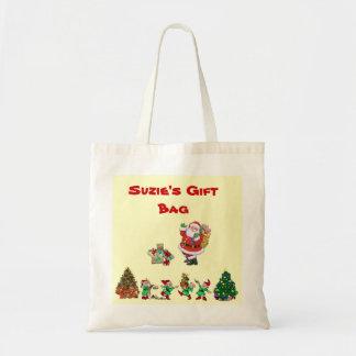 Customizable Holiday Gift Bag