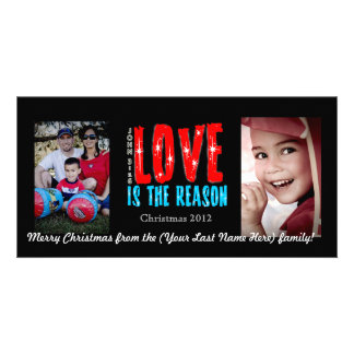 Customizable Holiday Photo Greeting Card