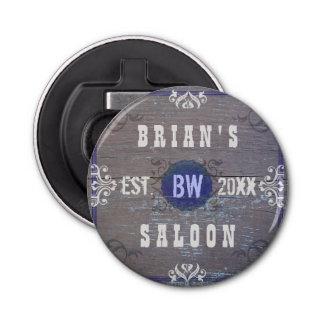 Customizable Home Bar Beer Saloon Bottle Opener