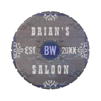 Customizable Home Bar Beer Saloon Candy Tins