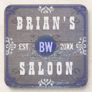 Customizable Home Bar Beer Saloon Coaster