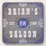 Customizable Home Bar Beer Saloon Drink Coaster