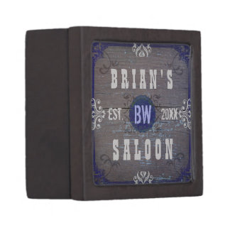 Customizable Home Bar Beer Saloon Tiny Gift Box
