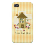 Customizable Home Sweet Home Case For iPhone 4